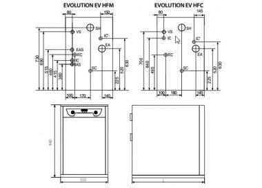 Caldera de gasoil Domusa Evolution EV 40 HFC