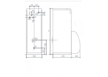 Caldera de gasoleo Domusa Terma 23 HV Con Kit Suelo Radiante
