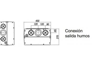 Caldera a gas de condensación ACV Prestige Kombi Kompakt HR eco 30-36