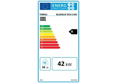 Caldera a gas de condensación Ferroli BLUEHELIX TECH S 45 H N