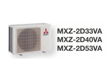 Aire Acondicionado 2x1 Mitsubishi Eléctric MXZ-2D42VA+ MSZ-SF25/35VE2
