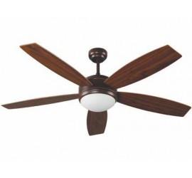 Ventilador de techo Faro Vanu marrón