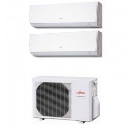 Aire Acondicionado Fujitsu 2x1 con externa AOY40Ui-MI2+ ASY 25 MI-LM+ASY 25 MI-LM