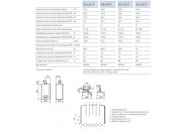 Caldera Baxi Platinum Max Plus 40/40 F