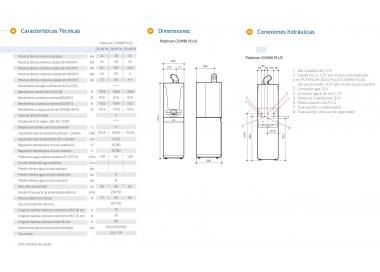 Caldera de condensación Baxi Platinum Combi Plus 28 AIFM