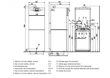 Baxi Platinum GTAF Combi 24