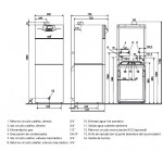 medidas Baxi Platinum GTAF Combi 24