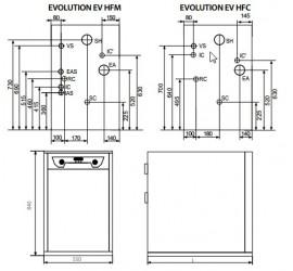 Caldera de gasoleo Domusa Evolution EV 40 HFM