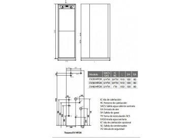 Caldera de gasoil Domusa Evolution EV 20 HFDX