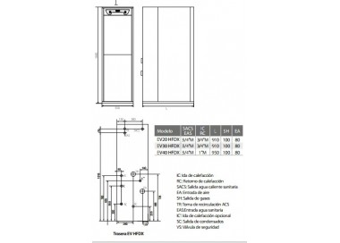 Caldera de gasoil Domusa Evolution EV 30 HFDX