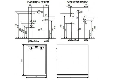 Caldera de gasoleo Domusa Evolution EV 35 HAM