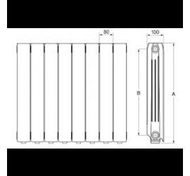 Radiador Ferroli Europa 600 C
