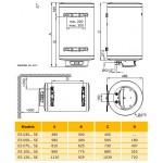 Termo eléctrico Elacell Excellence ES 035-5E