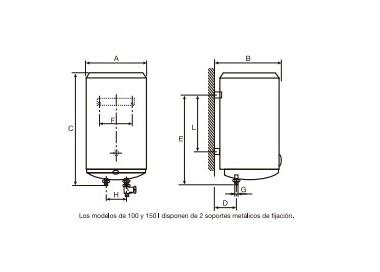 Termo eléctrico Cointra TDG-80