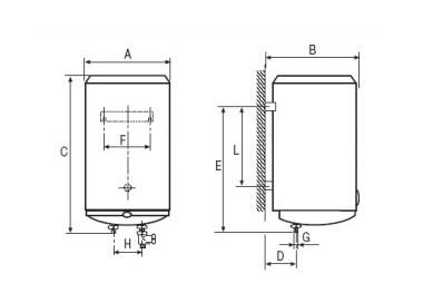 Termo eléctrico Cointra TND-50