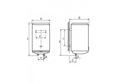 Termo eléctrico Cointra TND-100