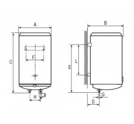 Termo eléctrico Cointra TND-150