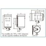 Termo eléctrico Cointra Aral TB-50 S
