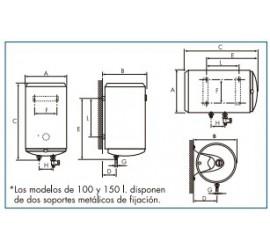Termo eléctrico Cointra TB-80