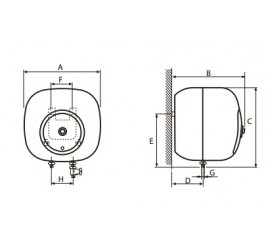 Termo eléctrico Cointra Aral TNC-10