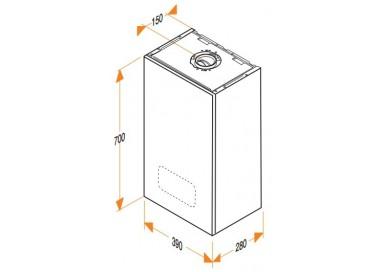 Caldera de gas de condensación Hermann Micraplus Condens 25