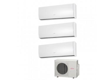 Aire acondicionado Fujitsu 3x1 AOY50UI-MI3 + 3 ASY20MI-LU