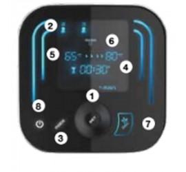 Termo eléctrico Fleck Duo7 50 EU