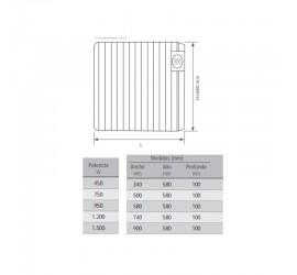 Radiador eléctrico Mithos Kappa 075