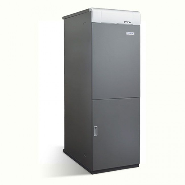 Caldera de gasoleo Domusa MCF 50 HDX E con Kit SRX2 con acumulador 100l.