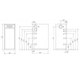 Caldera de gasoil de condensación Domusa Minny 30