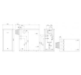 Caldera de gasoil de condensación Domusa Evolution EV 40 HFM OD