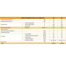 Caldera de gasoil de condensación Ferroli Atlas D Eco 34 COND UNIT