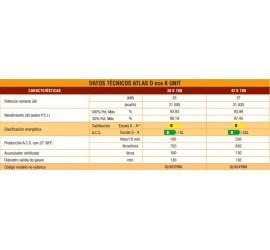 Caldera de gasoil Ferroli Atlas D Eco 42 K 130 UNIT