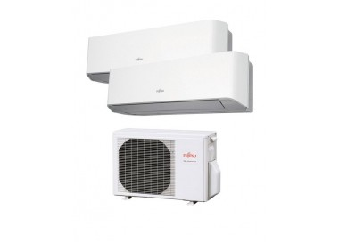 Aire Acondicionado Fujitsu 2x1 con externa AOY40Ui-MI2+ ASY 20 MI-LM+ASY 20 MI-LM