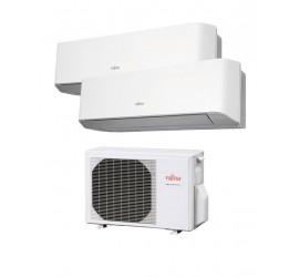 Aire Acondicionado Fujitsu 2x1 con externa AOY50Ui-MI2+ ASY 20 MI-LM+ASY 25 MI-LM