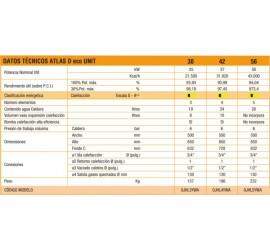 Caldera de gasoil Ferroli Atlas D Eco 42 UNIT