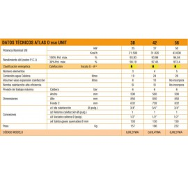 Caldera de gasoil Ferroli Atlas D Eco 56 unit