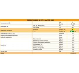 Caldera de gasoil Ferroli Ailent D Eco 30 COND SI UNIT