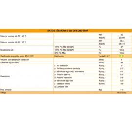 Caldera de gasoil Ferroli Silent D eco 30 COND UNIT