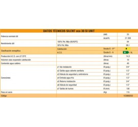 Caldera de gasoil Ferroli Silent Eco 30 SI UNIT