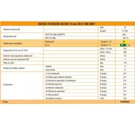Caldera de gasoil Ferroli Silent D Eco 30 K 100 UNIT