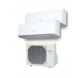Aire Acondicionado Fujitsu 2x1 con externa AOY50Ui-MI2+ ASY 25 MI-LM+ASY 35 MI-LM