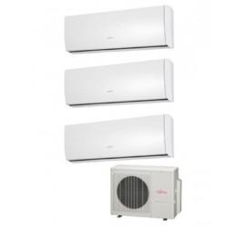 Aire acondicionado Fujitsu 3x1 AOY 50UI-MI3 + 3 ASY 20MI-LU