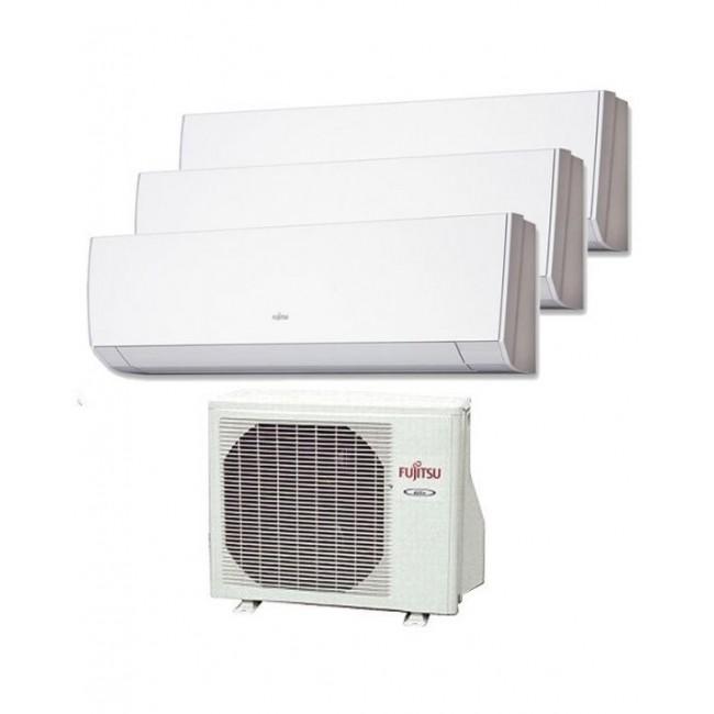 Aire Acondicionado Fujitsu 3x1 AOY50UI-MI3 + 3 interiores ASY20MI-LM