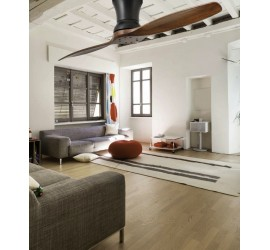 Ventilador de techo Faro Lama negro