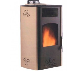 Estufa de pellets Greenheiss Margherita 8,5 kw.