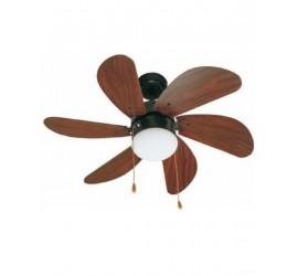 Ventilador de techo Faro Palao marrón
