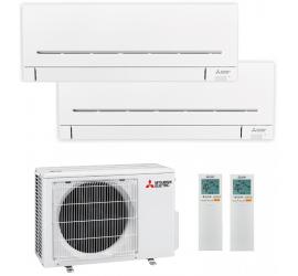 Aire Acondicionado Mitsubishi Electric 2x1 MXZ-2F33VF + MSZ AP20VG+ MSZ AP20VG