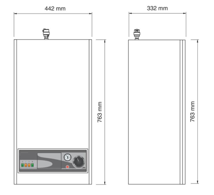 Caldera eléctrica ACV e-tech W15 etiqueta de eficiencia energética