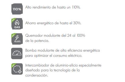 Caldera De Dietrich Naneo EMC-S MI NAT eficiencia y prestaciones
